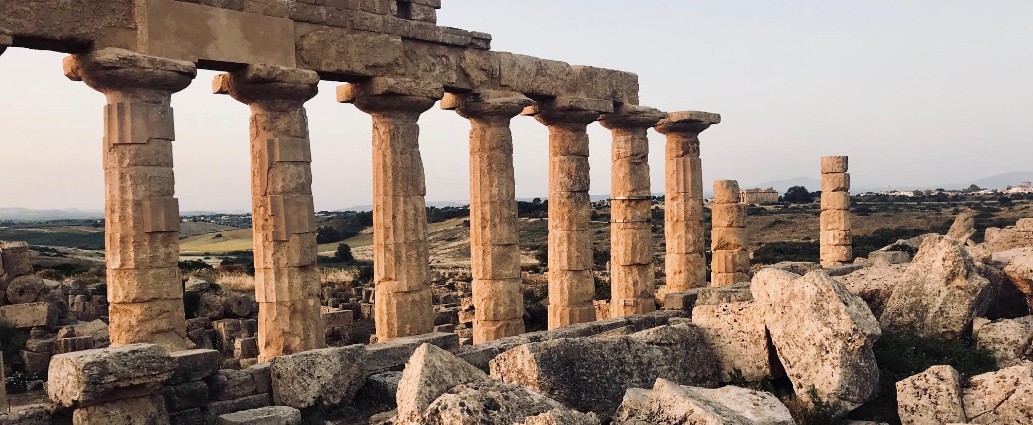 tourisme kitesurf sicile, visit temple et guide excursion