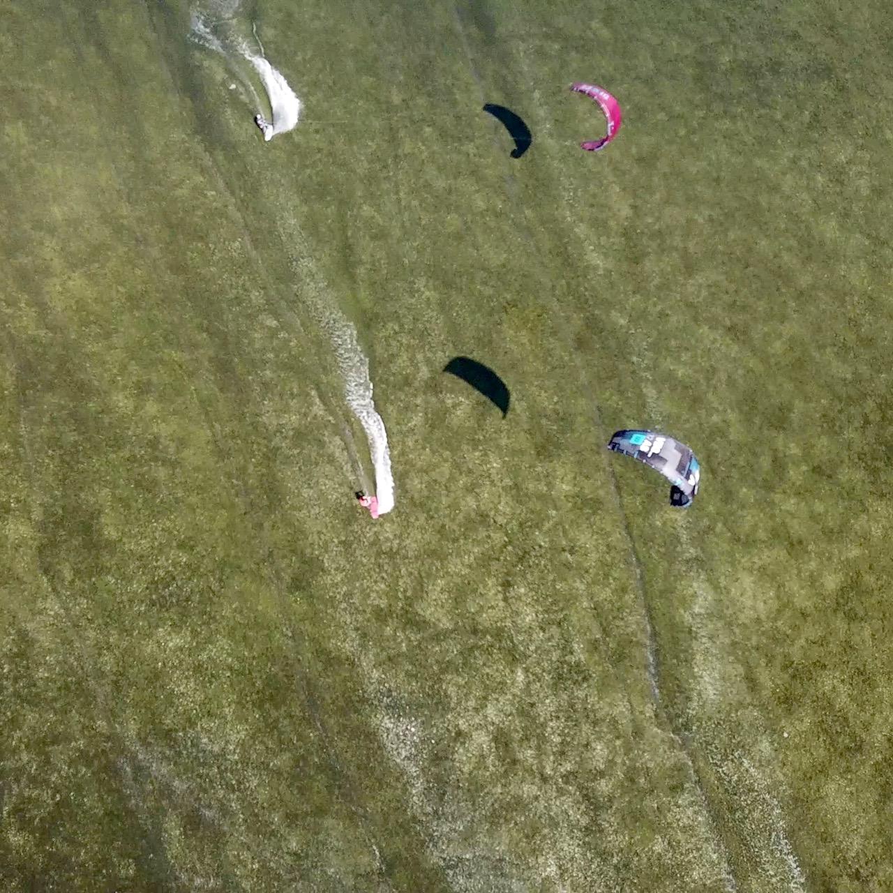 spot kitesurfingowy dla początkujących, kite spot do nauki, kitesurfing spot lostagnone