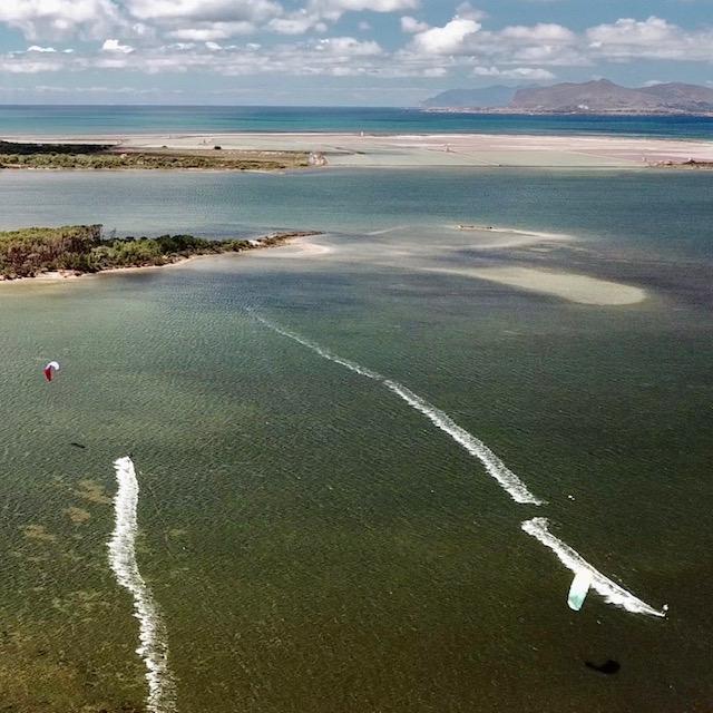 lo stagnone kitesurfing spot, kitesurfing in lo stagnone