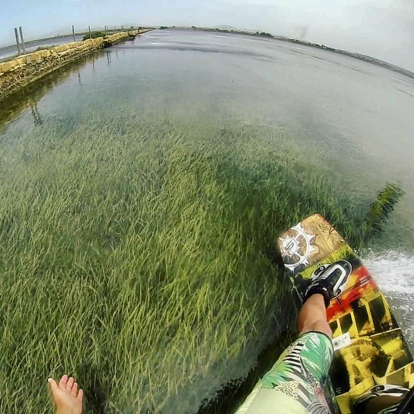 lo stagnone sicily, kitesurfing na sycylii, kitesurfing in sicily