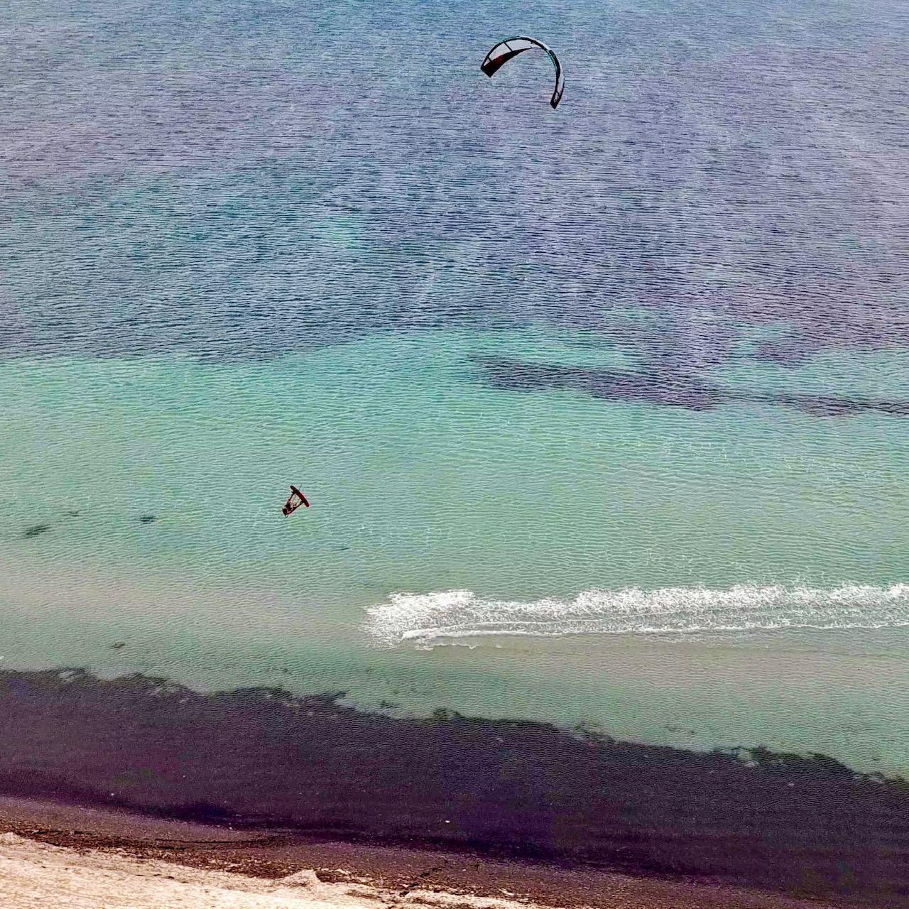 lo stagnone tahiti spot; conditions kitesurf sicile