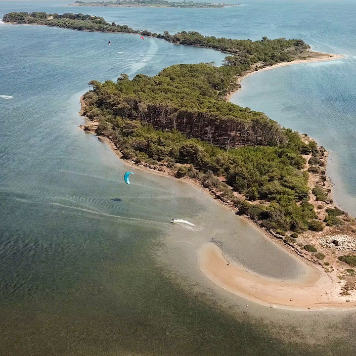 lo stagnone kite spot sicile, ile de santa maria, séjour kitesurf sicile; information spot kite sicile; spot kitesurf lo stagnone