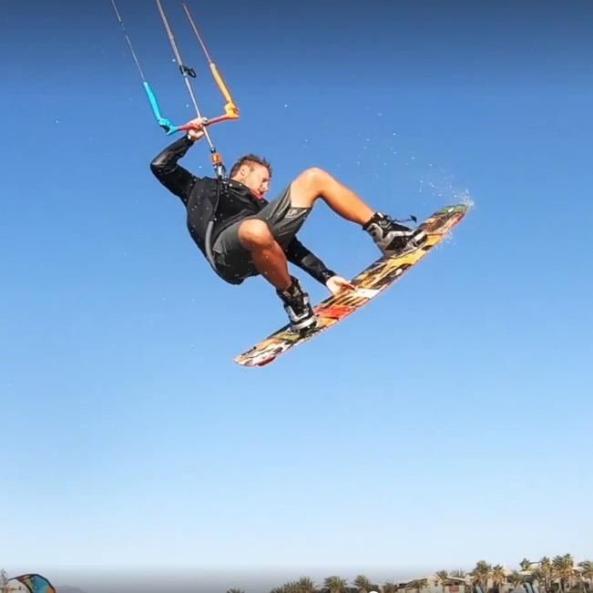kitelab kitesurfing school lo stagnone sicily instructor césar tricks