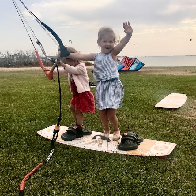 what age kids kitesurfing, how to teach child kitesurf; lo stagnone kite courses