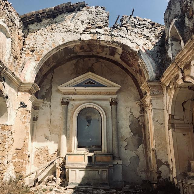 ruiny miasta poggioreale