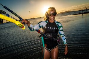 doris, instruktors of kite lab kitesurfing school, kitesurfing teachers sicily, kitesurfing trainers sicily, kite teachers lo stagnone