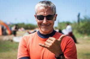 guillaume, instruktorzy kitesurfingu na sycylii, instruktor kite lo stagnone