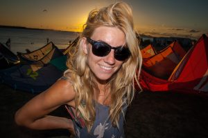 magda, kite lab instructors, kite lab team lo stagnone, kitesurfing school sicily